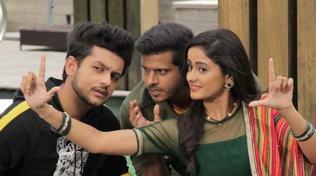 Adish, Neil and Ayesha