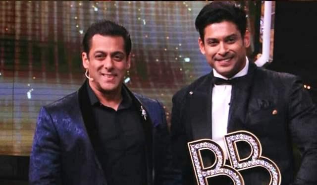 Salman Khan and Sidharth Shukla