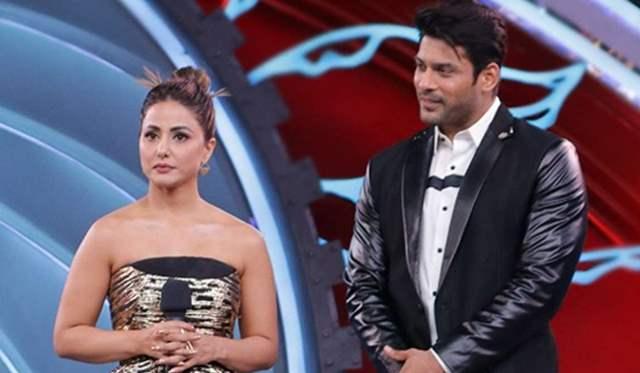 Hina Khan and Sidharth Shukla