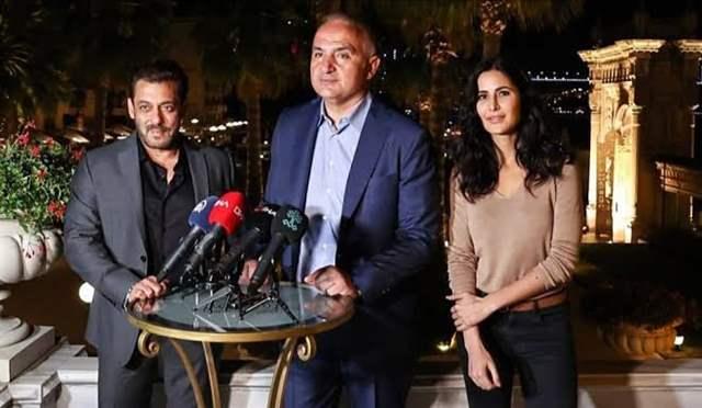 Salman Khan , Turkish minister and Katrina Kaif