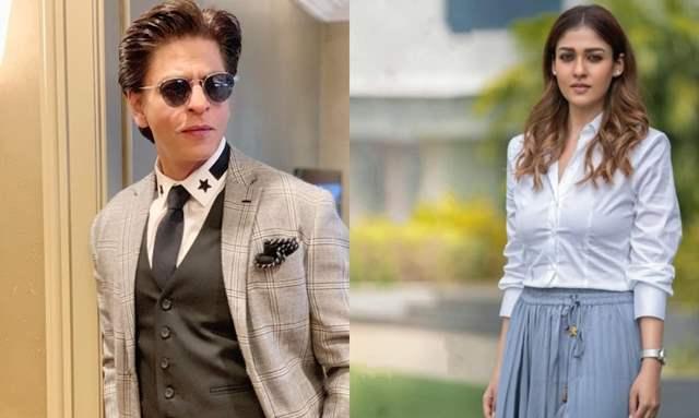 Shah Rukh Khan and Nayanthara