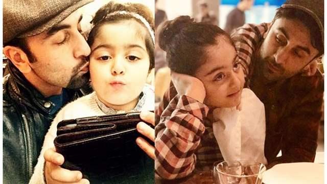 Ranbir Kapoor with niece Samara Sahni