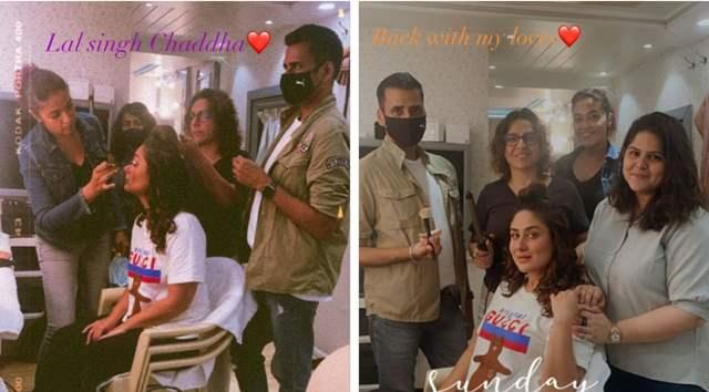 Kareena Kapoor Khan on Laal Singh Chaddha sets