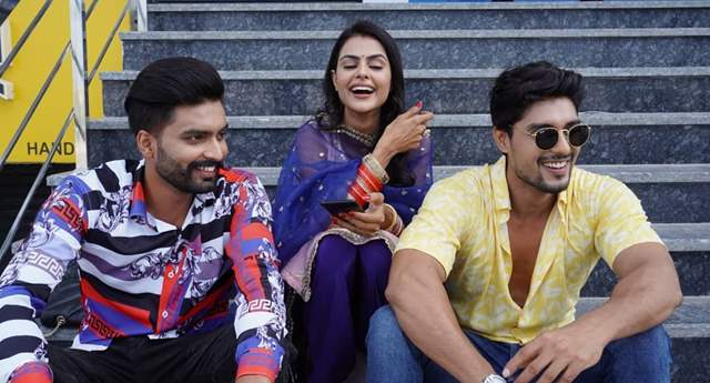 Virsa, Priyanka and Ankit