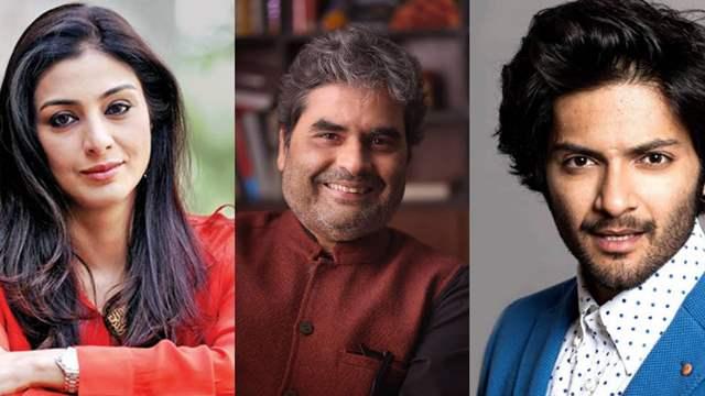 Tabu, Vishal Bhardwaj and Ali Faizal