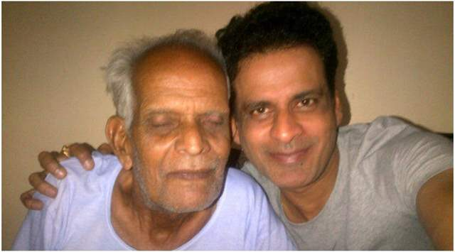 Manoj Bajpayee with father
