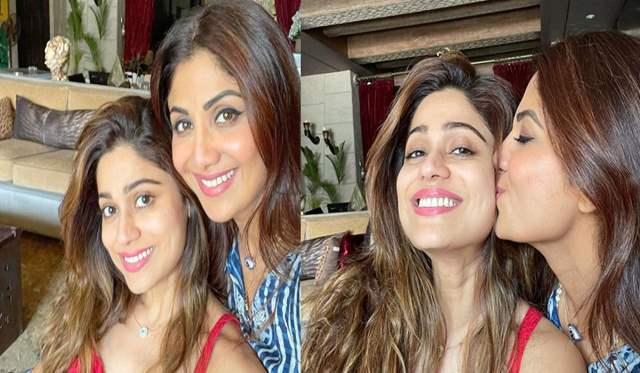 Shamita and Shilpa Shetty