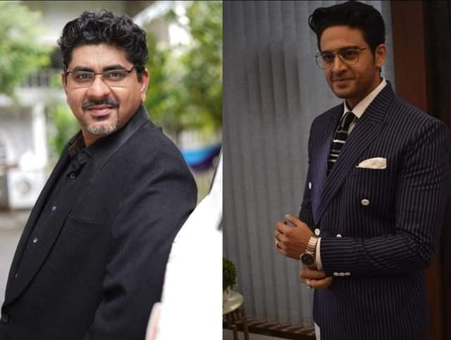 Rajan Shahi and Gaurav Khanna PR Picture