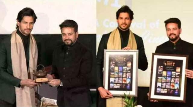 Sidharth Malhotra at the 1st Himalayan Film Festival