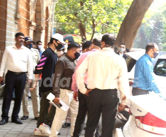 Aryan Khan clicked in NCB office today