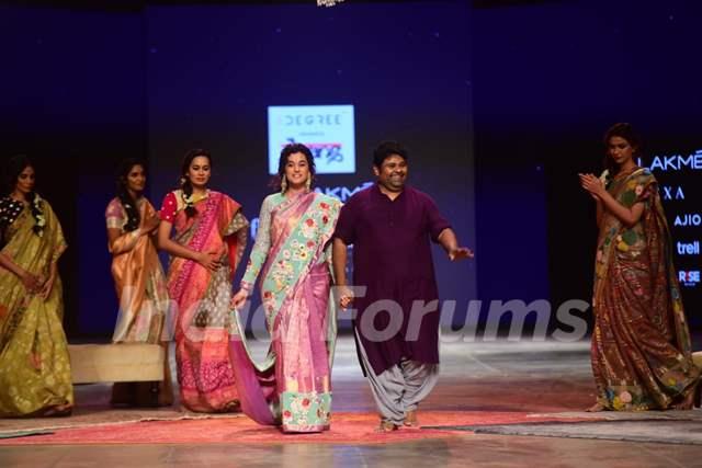 Taapsee Pannu for Designer Gauran