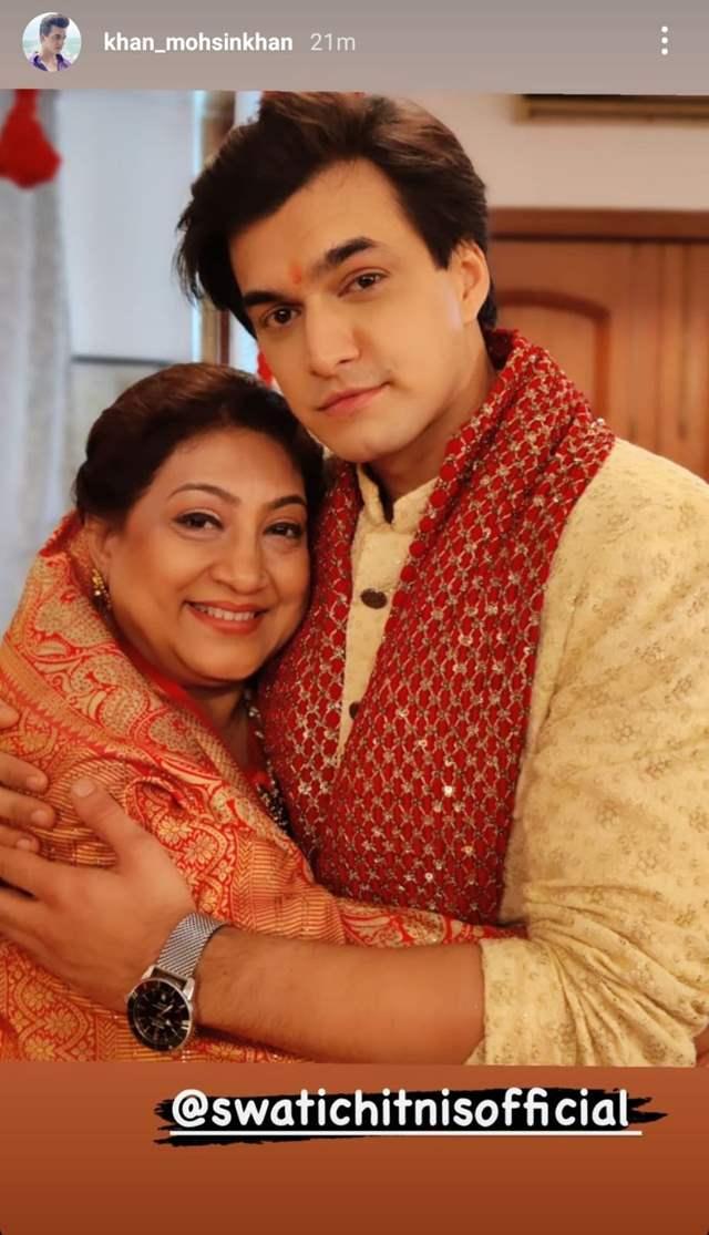 - Mohsin Khan and Shweta Chtinis
