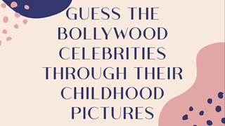 Guess the Bollywood celebrities through these childhood pictures