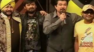 Anil Kapoor promoting his upcoming comedy Movie No Problem on Sa Re Ga Ma Pa Singing Superstar