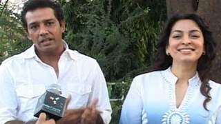 Juhi Chawla promotes I AM on Crime Patrol