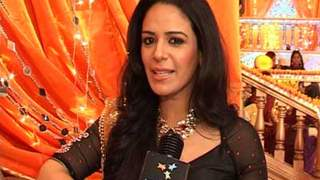 Mona Singh at Ratan's Mehendi Ceremony