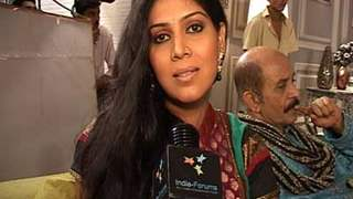 Exclusive Interview with Saakshi Tanwar for Tilak Ceremony in Bade Acche Laggte Hai