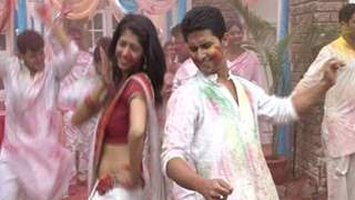 Holi Celebration on the sets of Saas Bina Sasuraal