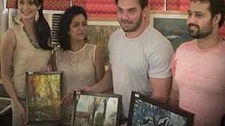 Sohail Khan, Vaishali Desai at Nandita Desai Charity Art Exhibition