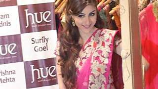 Soha Ali Khan at the launch of HUE fashion's new collection