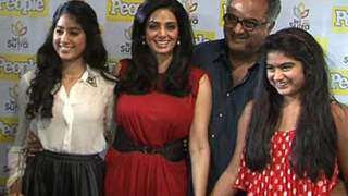 Sridevi unveils People Magazine's cover page 1