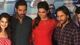 P.C OF RACE 2 WITH WHOLE STARCAST