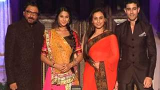 Rani Mukerji at the launch of Sanjay Leela Bhansali's TV show 'SaraswatiChandra'