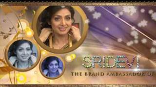 Making of the Tanishq Ad With Sridevi