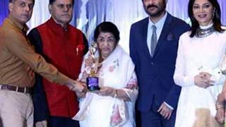 Lata Mangeshkar conferred first Yash Chopra Memorial Award