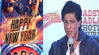 Cell phones are banned on the sets of Happy New Year - Shahrukh Deepika