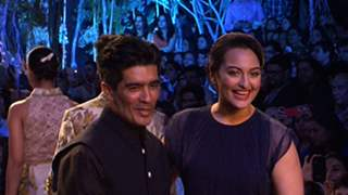 LFW 2014 - Sonakshi walks the ramp for Manish Malhotra's Summer Affair