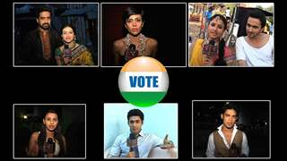 Telly Actors Appeal to Their Viewers to Vote
