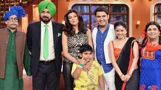 Hot Sushmita Sen on Comedy Nights With Kapil