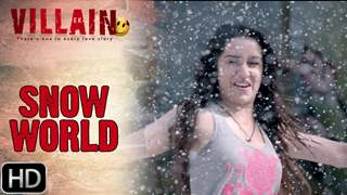 Sidharth Malhotra Takes Shraddha Kapoor To Snow World In Ek Villain