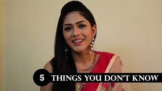 5 things You don't know about Mrunal Thakur
