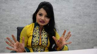 Giaa Manek Visiting India-forums' Office