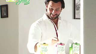 Priyagold Fresh Gold Juice Ad Making With Saif Ali Khan
