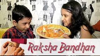 Harshita And Devyansh Celebrate Raksha Bandhan