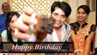 Karanvir Celebrates His B'day With India-Forums