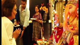 Krishna Raj Kapoor visited Neil Nitin Mukesh's house for Ganpati darshan