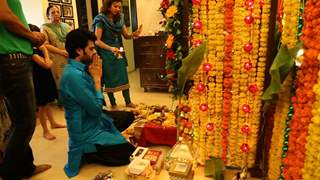 Manish Feels Emotional After Immersing Lord Ganesha