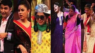 Comedy Nights With Kapil in Dubai : Bipasha Basu , Imran Naqvi, Mika Singh and Shaan