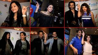 TV Celebs Dance to the tunes of Disco At India-Forums Bash