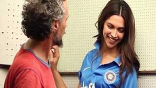 Deepika Padukone - Bleed Blue Campaign - Behind the scenes