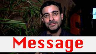 Gautam's Message For Samud and Saraswatichandra Fans