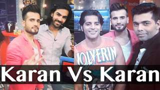 Karan vs Karan on Farah Ki Daawat!