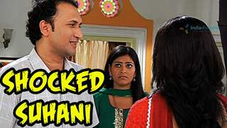 Suhani shocked on her father's surprise visit