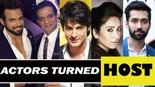 TV actors inclined towards hosting