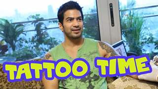 It's tattoo time for Amit Tandon
