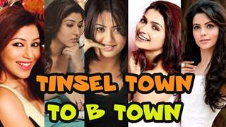 Actors made their way from Tinsel town to B-town